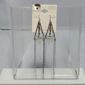 Bke fish hook dangle earring